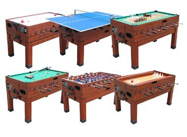 13 in 1 combination game table in cherry berner billiards for 13 in 1 game table