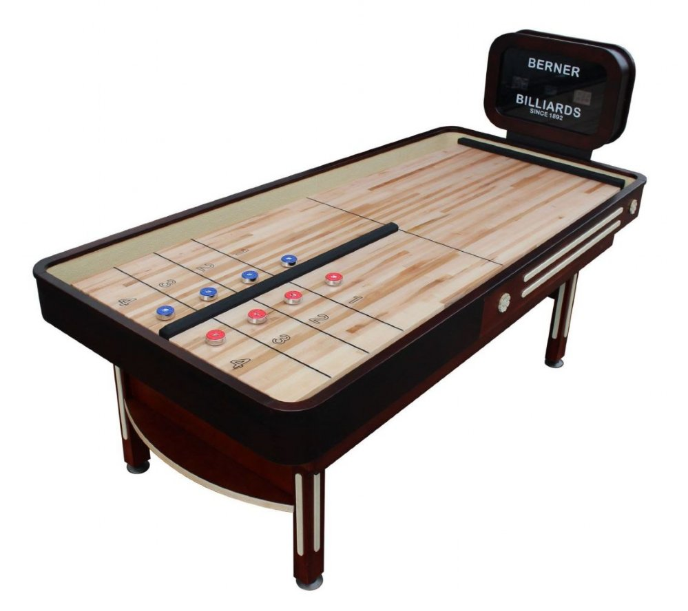 The Rebound Limited Shuffleboard Table with Electronic ...